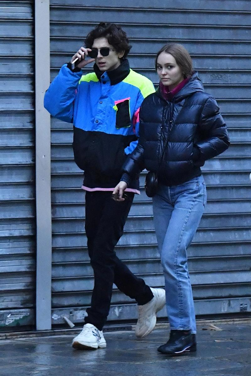 Timothée Chalamet and Lily-Rose Depp Are the Newest Style