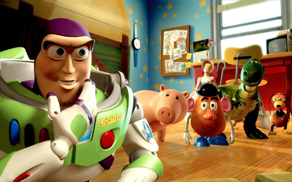 """<div><p>""""After rewatching the first one, I realized a lot of it is rather sad with Woody hating Buzz and the rest of the toys ganging up on Woody. But, in the sequel, it's so cool to see all the toys so intent on getting Woody back. Plus, with the introduction of Jessie and Bullseye, and them being included in the family, it's just great vibes all around.""""</p><p>—<a href=""""https://www.buzzfeed.com/aurorgel"""" rel=""""nofollow noopener"""" target=""""_blank"""" data-ylk=""""slk:aurorgel"""" class=""""link rapid-noclick-resp"""">aurorgel</a></p><p>""""They set it up beautifully in the first film, and then knocked it out of the park with the second!""""</p><p>—<a href=""""https://www.buzzfeed.com/cassandrajaneh"""" rel=""""nofollow noopener"""" target=""""_blank"""" data-ylk=""""slk:cassandrajaneh"""" class=""""link rapid-noclick-resp"""">cassandrajaneh</a></p></div><span> Walt Disney Co. / Everett Collection</span>"""