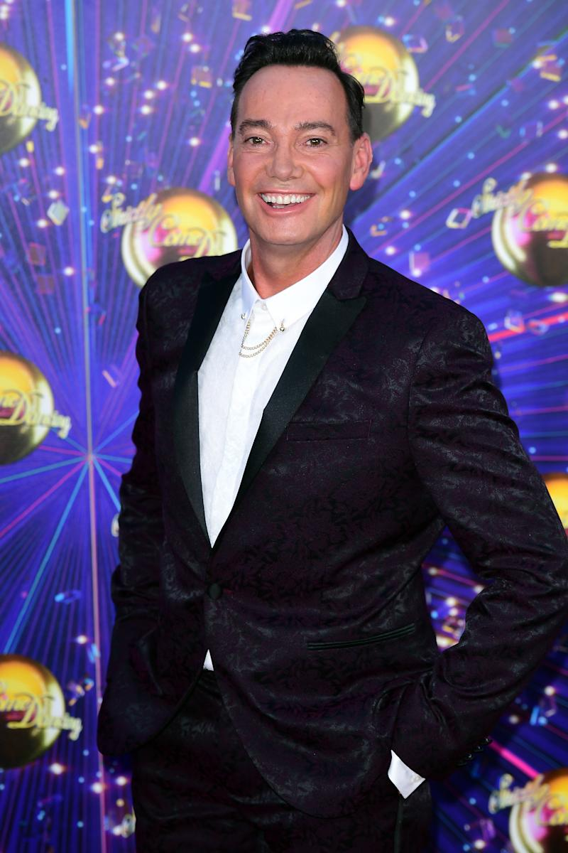 Craig Revel Horwood arriving at the red carpet launch of Strictly Come Dancing 2019, held at BBC TV Centre in London, UK. (Photo by Ian West/PA Images via Getty Images)