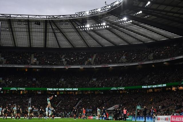 Since rugby union turned professional in 1995, England have played only five home games at anywhere other than 'fortress' Twickenham, pictured here