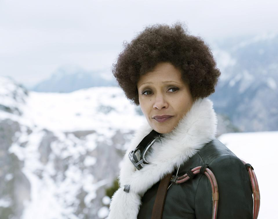 Thandie Newton played Val in the problem-plagued blockbuster, 'Solo: A Star Wars Story' (Photo: Jonathan Olley/Lucasfilm/Walt Disney Studios Motion Pictures/Courtesy Everett Collection)