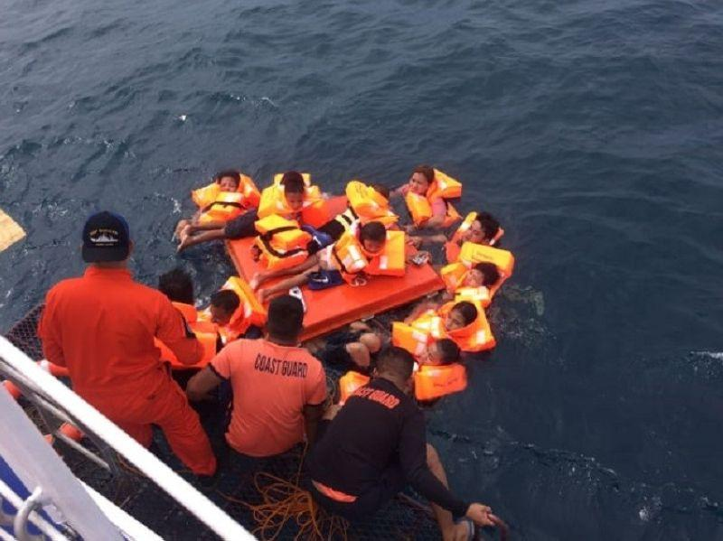 Fastcraft sinks; 62 persons rescued