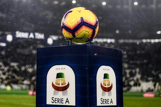 Italy's Serie A will return on June 20. (AFP Photo/Marco BERTORELLO )