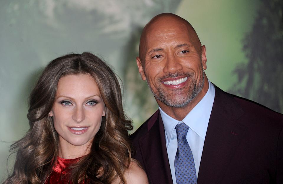 """Dwayne """"The Rock"""" Johnson said quarantine has made him and his wife Lauren Hashian better partners. (Photo: Getty Images)"""