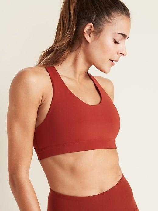 <p>This <span>Old Navy Medium Support Powersoft Sports Bra</span> ($22, originally $30) is super cozy, but also provides support.</p>