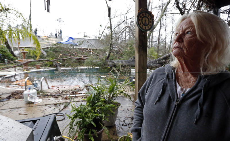 More rain could complicate Miss. twister cleanup