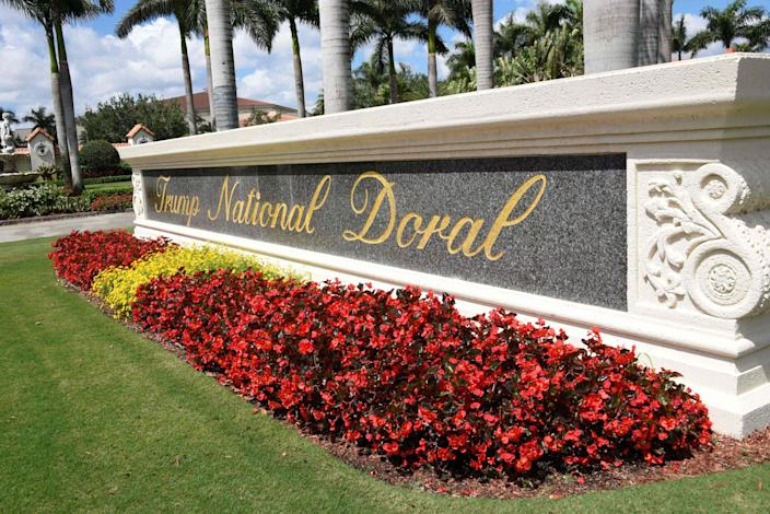 Trump National Doral golf resort in Miami