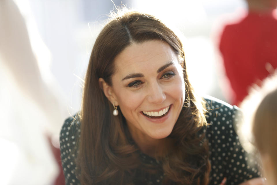 The Duchess of Cambridge at Evelina London Children's Hospital in December [Photo: PA]