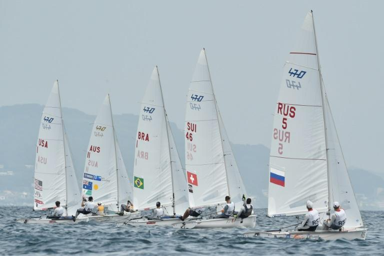Too hot for lifejackets - rules loosened at sizzling Olympic sailing test