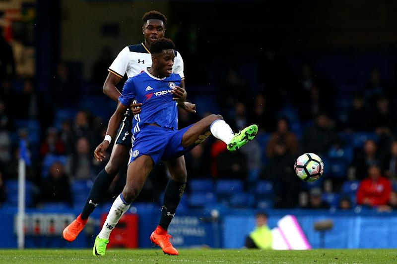 Ike Ugbo was in superb form for Chelsea: Tottenham Hotspur FC via Getty I