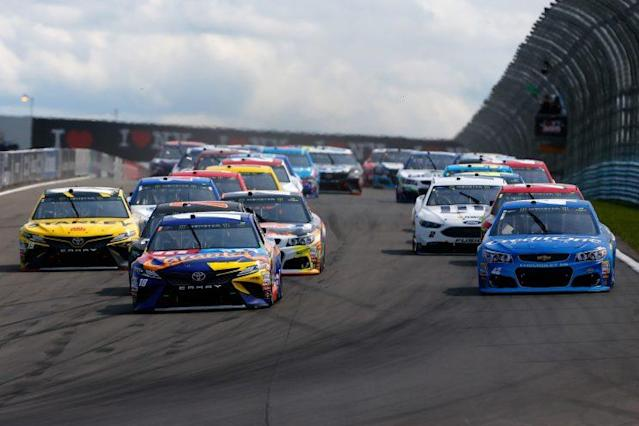 The last time a Cup race at Watkins Glen had three cautions? 1995. (Getty)