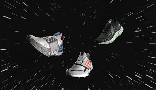 PHOTO: The adidas x Star Wars Space Battle-themed pack. (adidas x Star Wars)