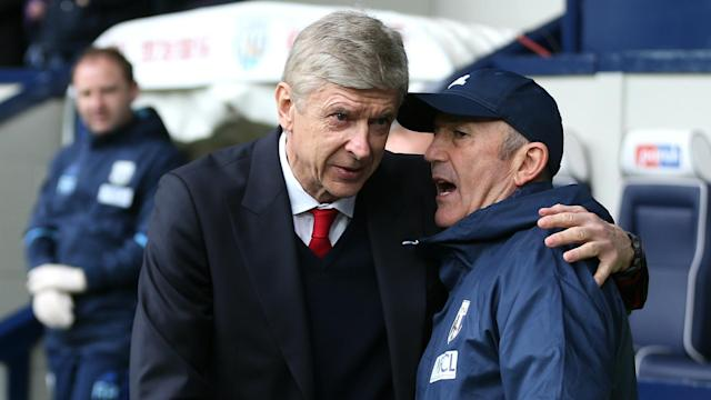 Arsene Wenger will stay at Arsenal beyond this season if West Brom manager Tony Pulis is to be believed.
