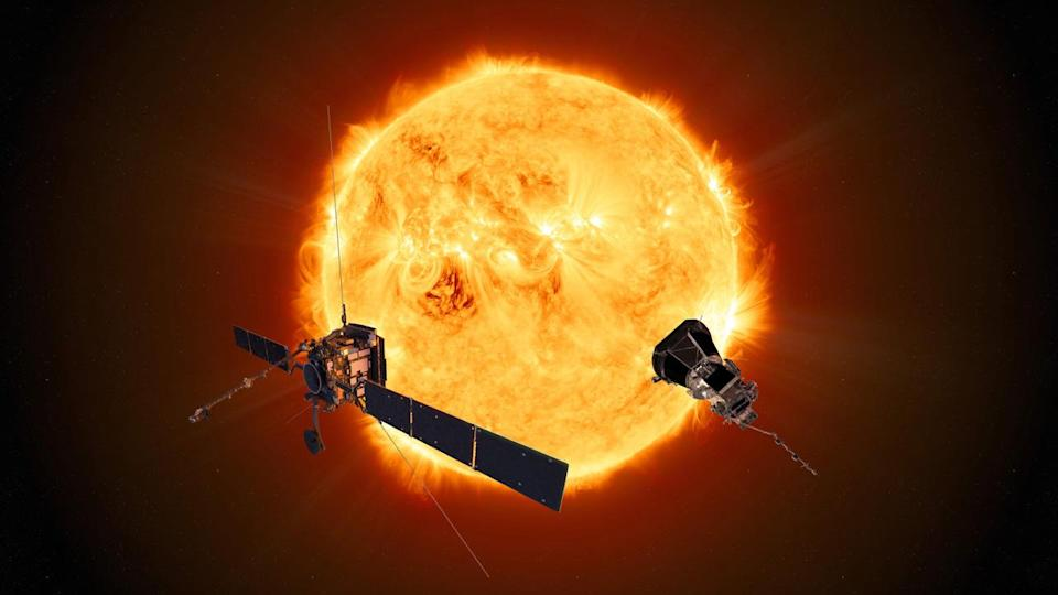 Solar Orbiter and Parker Solar Probe ESA NASA