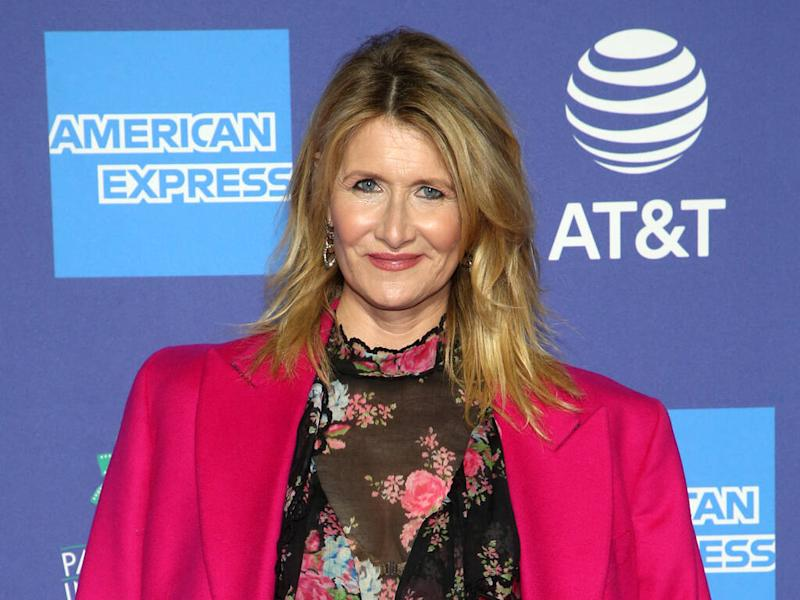 Laura Dern moved by parents' reunion for her Palm Springs honour