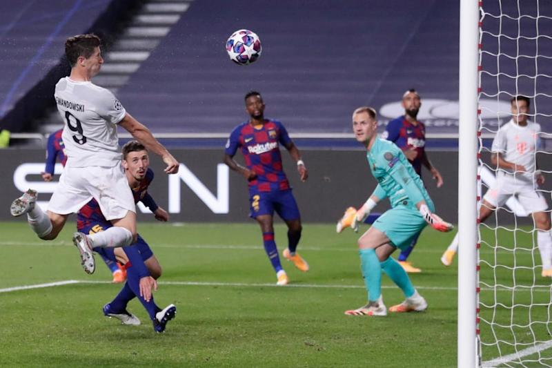 UEFA Champions League: Brutal Bayern Munich Inflict Stunning 8-2 Defeat on Barcelona