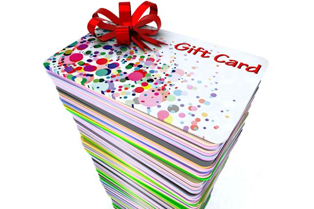 Gift cards expire