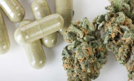 A 7-year-old Oregon girl takes medical marijuana in pill form to help combat the effects of her chemotherapy.