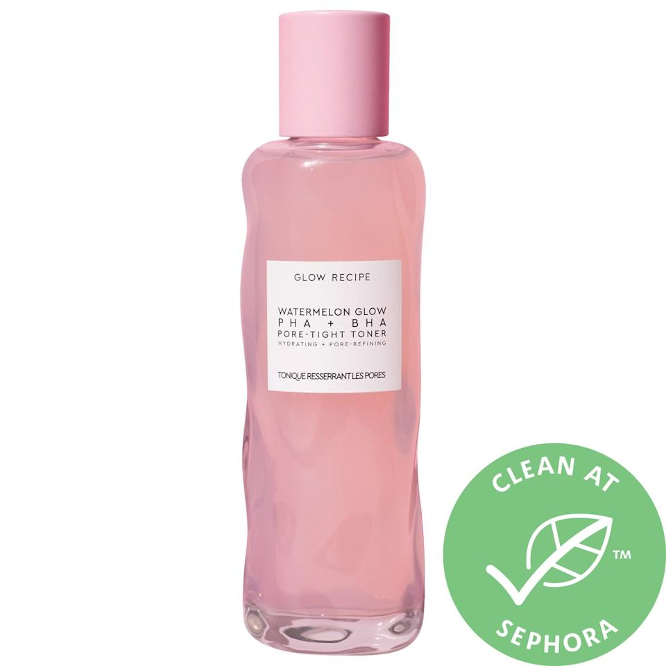 <p>This alcohol-free <span>Glow Recipe Watermelon Glow PHA +BHA Pore-Tight Toner</span> ($34) exfoliates and unclogs pores while cactus water and watermelon keep skin hydrated, no matter the temperature.</p>