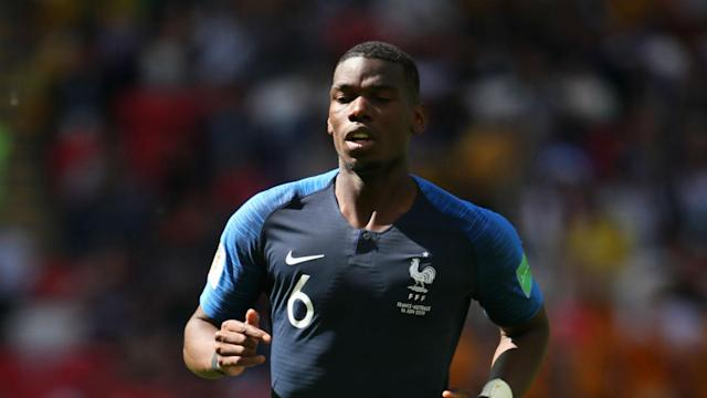 The Manchester United midfielder played a pivotal role in France's 2-1 win over Australia, much to the delight of a team-mate quick to talk him up