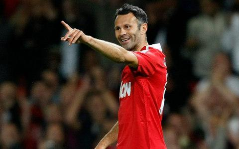 <span>Ryan Giggs scored against Newcastle in his 19th consecutive Premier League season for United</span> <span>Credit: AP </span>