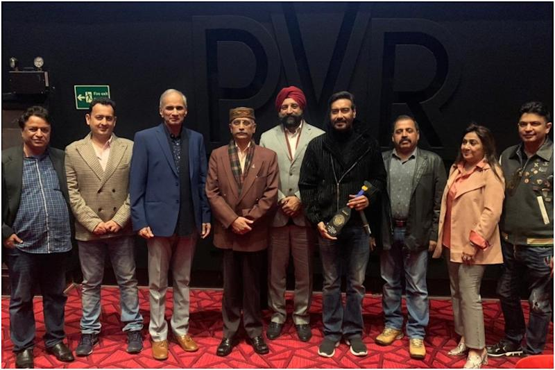 Ajay Devgn Thanks Army, Navy and Air Chiefs for Attending Tanhaji Screening