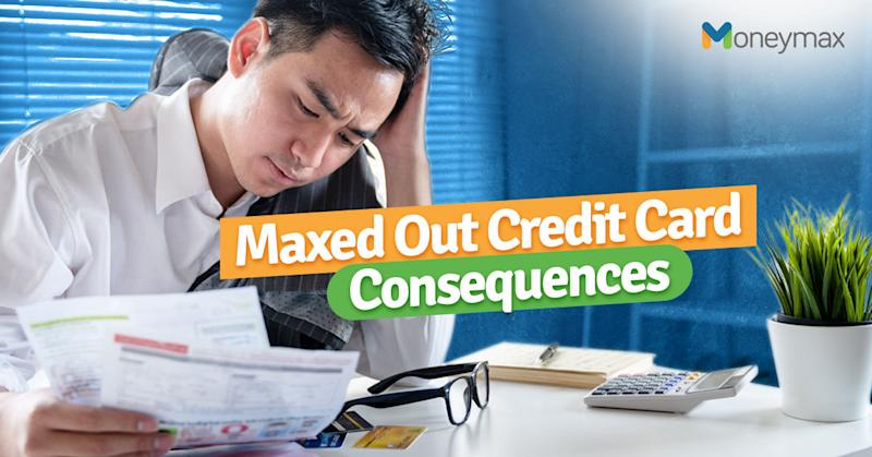 Maxed Out Credit Card? Here's What to Do   Moneymax