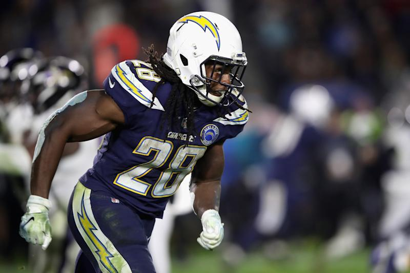 Melvin Gordon ended his holdout on Thursday. (Getty Images)