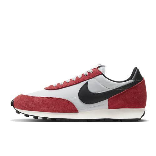 "<p><a class=""link rapid-noclick-resp"" href=""https://go.redirectingat.com?id=127X1599956&url=https%3A%2F%2Fwww.nike.com%2Fgb%2Ft%2Fdaybreak-shoe-GZlchc%2FDB4635-001&sref=https%3A%2F%2Fwww.esquire.com%2Fuk%2Fstyle%2Fshoes%2Fg9894%2Fbest-mens-trainers%2F"" rel=""nofollow noopener"" target=""_blank"" data-ylk=""slk:SHOP"">SHOP</a></p><p>Seventies runners are an outlier. They're slimline, and unassuming, and also make for really great runners in 2020 too as Nike revives an old silhouette in red suede and old school nylon.</p><p>Daybreak Men's Shoe, £89.95, <a href=""https://go.redirectingat.com?id=127X1599956&url=https%3A%2F%2Fwww.nike.com%2Fgb%2Ft%2Fdaybreak-shoe-GZlchc%2FDB4635-001&sref=https%3A%2F%2Fwww.esquire.com%2Fuk%2Fstyle%2Fshoes%2Fg9894%2Fbest-mens-trainers%2F"" rel=""nofollow noopener"" target=""_blank"" data-ylk=""slk:nike.com"" class=""link rapid-noclick-resp"">nike.com</a></p>"