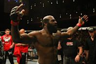 <p>MMA fighter Kevin Ferguson, known as Kimbo Slice, died on June 6, 2016 at 42 from heart failure. Photo from Getty Images </p>