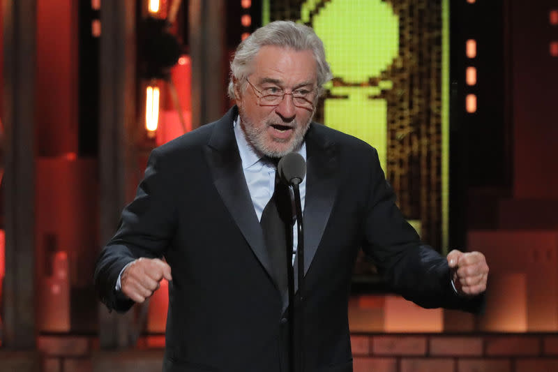 USA ROBERT DE NIRO S'EN PREND À DONALD TRUMP AUX TONY AWARDS