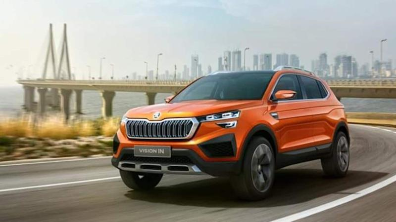 Skoda Vision IN-based compact SUV to be launched next year