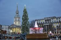 "<p>Londoners and visitors probably know the iconic spruce that stretches to the sky in Trafalgar Square each year, but few realize where it comes from. Every year since 1947, the people of Norway have gifted the tree to the people of London. They <a href=""https://www.london.gov.uk/about-us/our-building-and-squares/christmas-trafalgar-square"" rel=""nofollow noopener"" target=""_blank"" data-ylk=""slk:donate the tree"" class=""link rapid-noclick-resp"">donate the tree</a> in gratitude for Britain's support for Norway during World War II. Now that's what we call goodwill toward men.</p>"