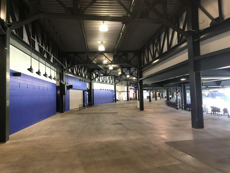 Concourses have few remnants of the Braves era. (Yahoo Sports)