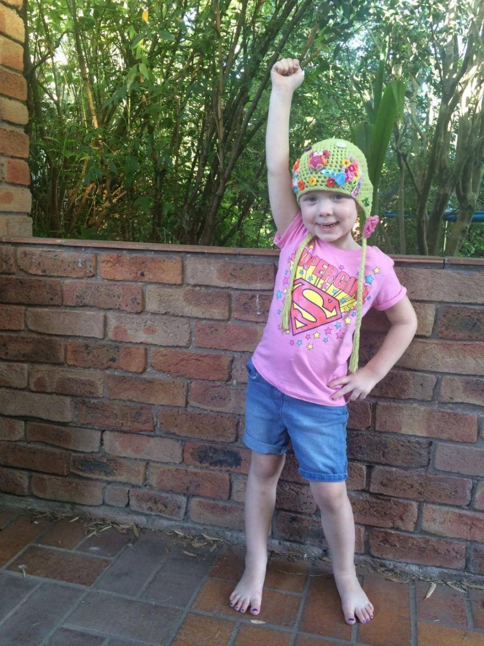 Evie endured more than most adults would in a lifetime. Photo: Supplied