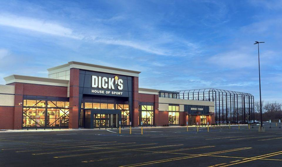 An exterior view of Dick's Sporting Goods' House of Sport in Rochester, N.Y. - Credit: Courtesy of Dick's Sporting Goods