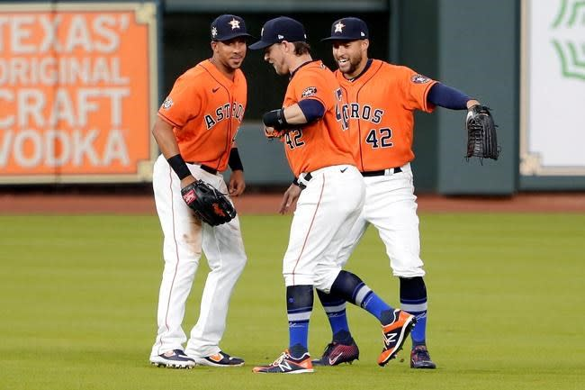 Astros-A's postponed after positive COVID-19 test on Oakland