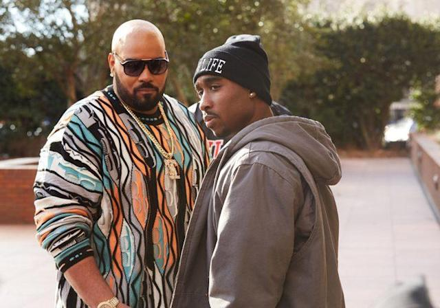Dominic L. Santana as Suge Knight and Shipp in 'All Eyez on Me' (Photo: Quantrell Colbert)