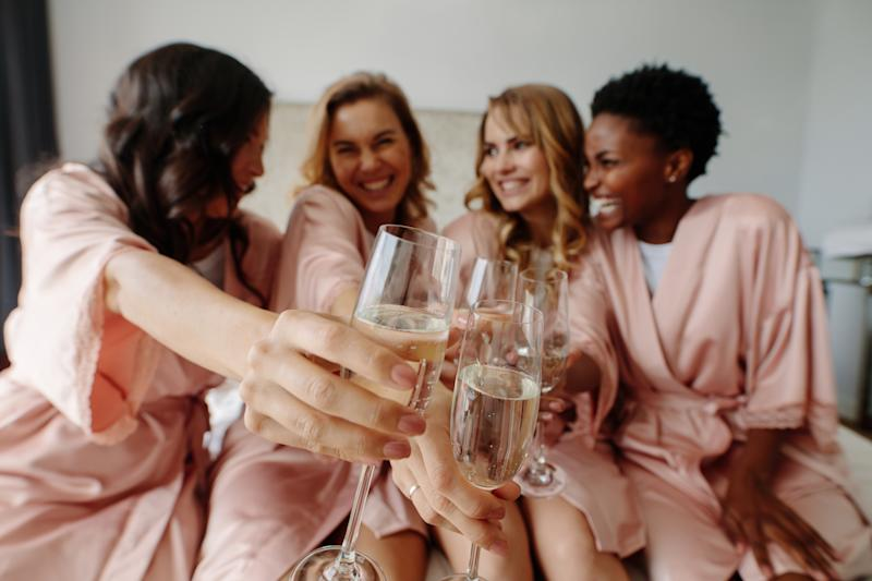 Couples are now spending more money on pre-engagement celebrations [Photo: Getty]