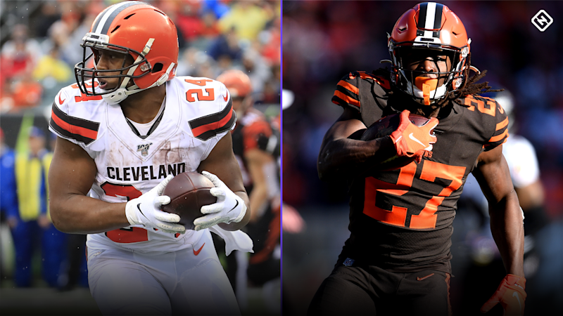 Nick Chubb vs. Kareem Hunt: Which Browns RB is the better fantasy football value?