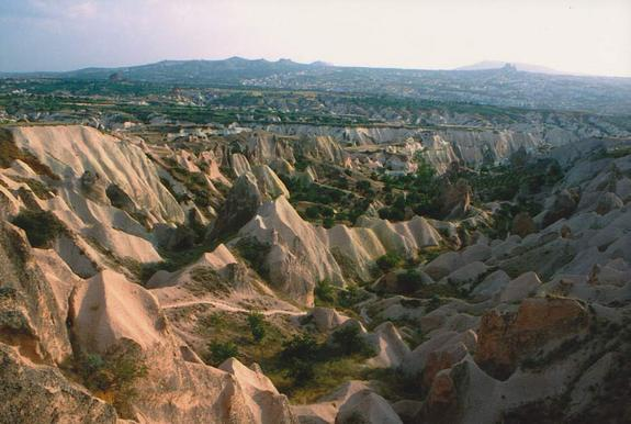 "The so-called Çardak caldera, which spread huge amounts of ash over Cappacocia, is inactive today. Even so, thick layers of volcanic ash have accumulated over millions of years. ""Then, erosion generated there among the most magnificent landscap"