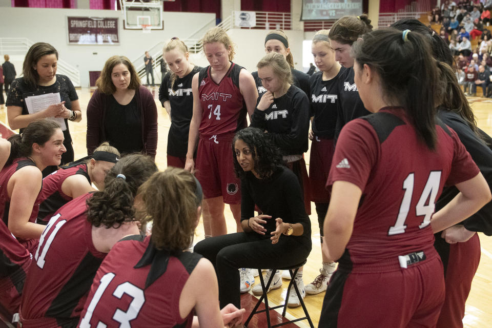 Sonia Raman had never been a head coach when she arrived at MIT. After 12 seasons, she's on to the NBA. (Courtesy of MIT)