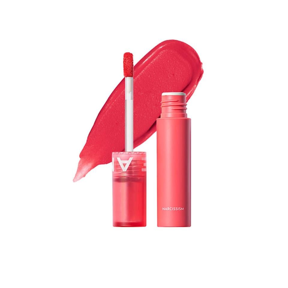 "<p>Amuse is a brand-new makeup brand based in Seoul that's already won Jo over. Amuse Newtro Matt in 03 Narcissism is her favorite liquid lipstick at the moment for its non-drying matte finish. Sometimes, she layers it over the peach shade called Seongsudong to make lips look fuller.</p> <p>$28 (<a href=""https://us.wconcept.com/amuse"" rel=""nofollow"">Shop Now</a>)</p>"