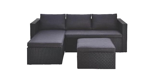 Orlando Garden Chaise and Footstool