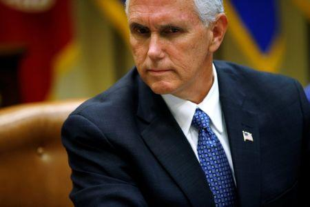 FILE PHOTO: U.S. Vice President Mike Pence attends a healthcare listening session at the White House in Washington, DC, U.S. June 5, 2017. REUTERS/Joshua Roberts