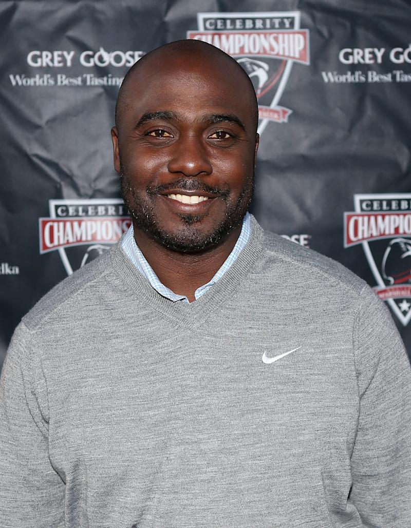 Former NFL running back Marshall Faulk attends the Marshall Faulk Celebrity Golf Champions Dinner Presented by GREY GOOSE held at La Costa Resort & Spa on May 18, 2013 in Carlsbad, California.