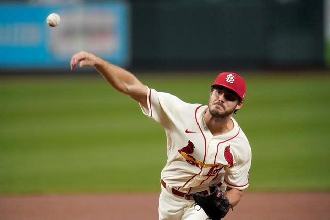 Hudson 1-hit ball for 6 innings, Cards hit 4 HRs, top Reds