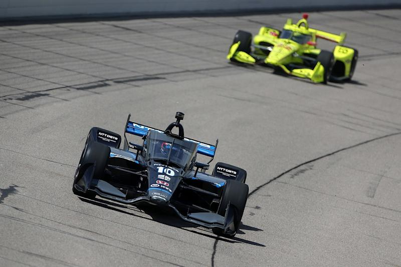 Rosenqvist: Tight IndyCar field hard for all drivers