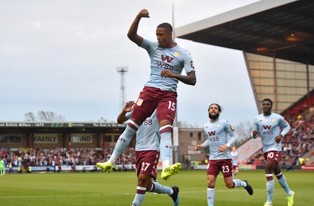 Ezri Konsa made his Premier League debut on Saturday. (Credit: Getty Images)