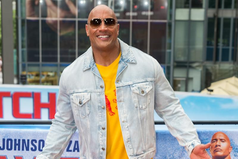 Future Black Adam actor, Dwayne 'The Rock' Johnson (credit: WENN)